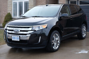 2013 Ford Edge Limited AWD BLK Fully Loaded Low KMs Tow Package