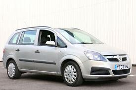 Vauxhall/Opel Zafira 1.6i 16v ( a/c ) 2007 Life Stunning rare colour!!