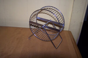 Roue d'exercice pour hamster.