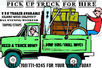 Dump runs/Junk removal, small moves. 7097719245