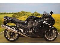 Kawasaki ZZR1400 2008**WAVY DISC, INTEGRATED INDICATORS, DIGITAL DISPLAY**