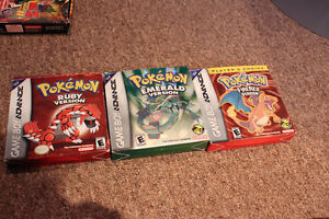 Complete Pokemon Ruby, Emerald, Fire Red GBA + Emerald Guide
