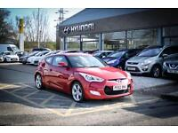 2012 62 HYUNDAI VELOSTER 1.6 GDi 4dr in Red