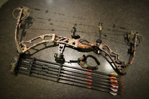 "Elite Energy 32 RH 70# 27.5"" Draw Compound Bow"