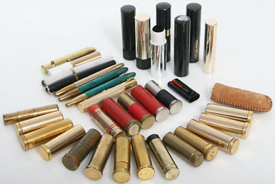 35 Vintage camera Lens Cleaning, Brush Collection, lipstick style, fountain pen