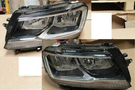 Original Right hand drive halogen headlights VW TIGUAN 5N RHD UK version 2016 - 2020