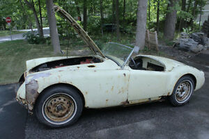1958 MGA roadster for restoration