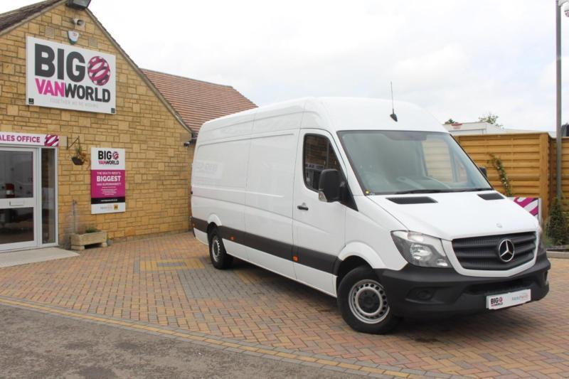 2015 MERCEDES SPRINTER 313 CDI LWB HIGH ROOF VAN LWB DIESEL