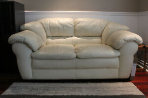 2 Chesterfield Leather Sofas