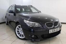 2006 06 BMW 5 SERIES 3.0 535D M SPORT 5DR AUTOMATIC 269 BHP DIESEL