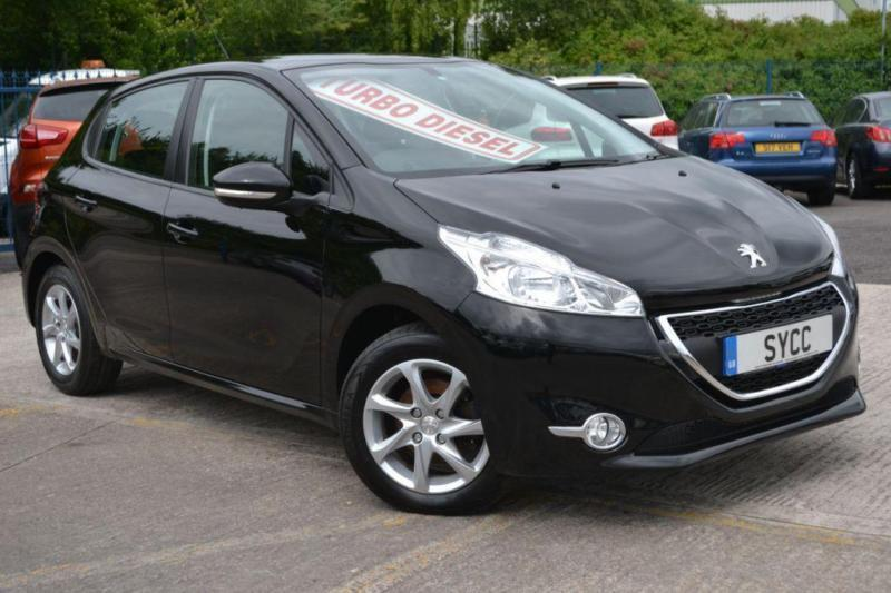 2013 peugeot 208 1 4 hdi active 5dr 5 door hatchback in goldthorpe south yorkshire gumtree. Black Bedroom Furniture Sets. Home Design Ideas