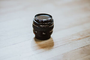Canon 50mm f1.4 + LENS PROTECTOR
