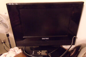 15 inch Digitec flat screen TV