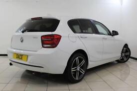 2013 13 BMW 1 SERIES 1.6 116I SPORT 5DR 135 BHP
