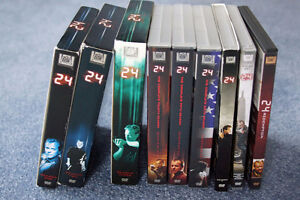 24 TV series - Complete season 1-8 + movie 24 redemption