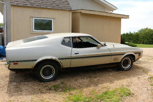 1972 Mustang Mach 1 Project Car
