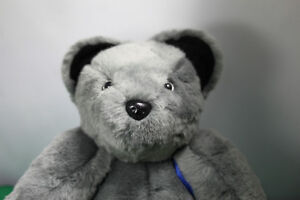 Soft cuddly Grey Teddy Bear fully moveable joints, & backpack Kingston Kingston Area image 6