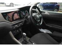 2018 Volkswagen POLO HATCHBACK 1.0 TSI 95 SE 5dr DSG Auto Hatchback Petrol Autom