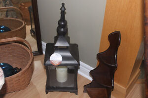 New Flameless Candle Lantern ( great for patio )