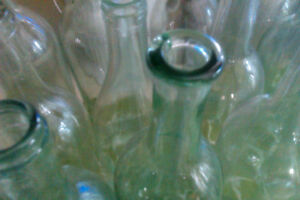 Antique and vintage glass bottle collection