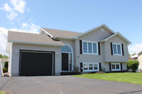 HOME with attached GARAGE & PRIVATE BACKYARD