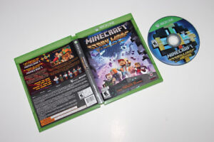 MICROSOFT XBOX ONE-MINECRAFT STORY MODE-JEU/GAME (C005)