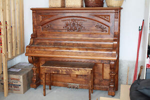 Karn Piano Mint condition. Over 100 years.