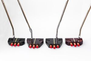 Custom wood golf putters by Holden Golf Clubs