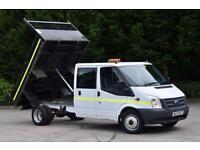 2.2 350 DRW 2D 125 BHP RWD LWB 6 SEATER D/CAB COMBI DIESEL MANUAL TIPPER 2013
