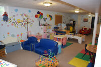 Full Time Space Available for  OVER 2 yrs old