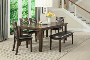 huge dining table & chairs, sofa sets, bed room sets & more deal