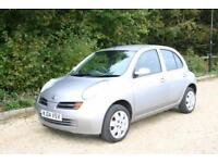 Just 64535 Miles NISSAN MICRA SE with FULL SERVICE HISTORY and NEW MOT