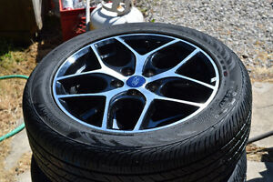 """Beautiful 17"""" Summer Rims And Tires"""