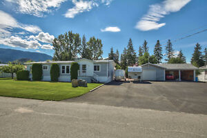 Home with Shop on 1/2 acre in Barriere