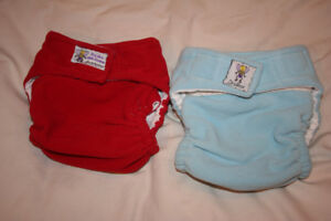 Drybees Large Cloth Diaper Fleece pockets