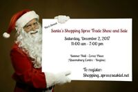Vendors Needed - Santa's Shopping Spree Tradeshow and Sale