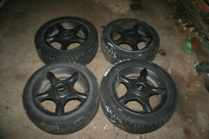 Mini BMW rims and winter tyres