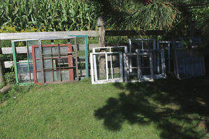 Lot of Old Wooden Frame Windows London Ontario image 1