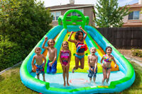 Wet or Dry Bouncy Castles for a Kid's Party or Weekend Event