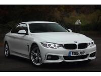 2015 BMW 4 SERIES 420D M SPORT COUPE DIESEL