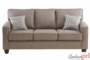 Brand NEW Jitterbug Taupe Sofa! Call 204-726-3499!