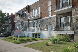 Grand 5 1/2, 3 chambres, Ahuntsic - Villeray style condo