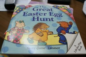 The Great Easter Egg Hunt Lift-the-Flap Book