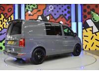 2017 VW TRANSPORTER T6 T30 SWB 2.0TDI 160PS KOMBI LV SPORTLINE PK PURE GREY