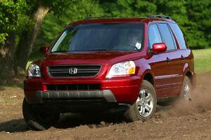 Honda pilot E Premium model