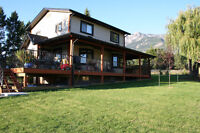 Home on Small Acreage for Rent in Edgewater, BC