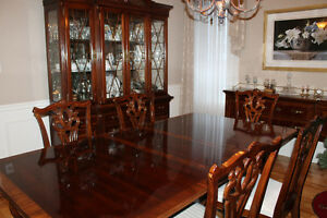 Exquisite Mahogany Dining Suite