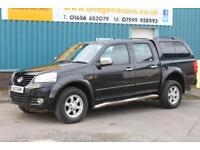 2013 GREAT WALL STEED 2.0 TD 143 BHP SE 4X4 DOUBLECAB DIESEL 6 SPEED MANUAL PICK