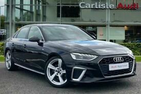 image for 2019 Audi A4 S line 40 TFSI  190 PS S tronic Auto Saloon Petrol Automatic