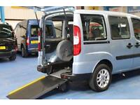 Fiat Doblo Wheelchair car disabled accessible vehicle mobility van access ramp